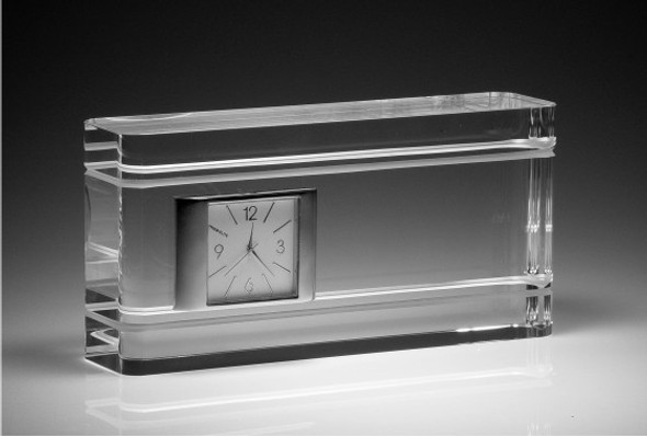 ACCOMPLISHED CRYSTAL CLOCK