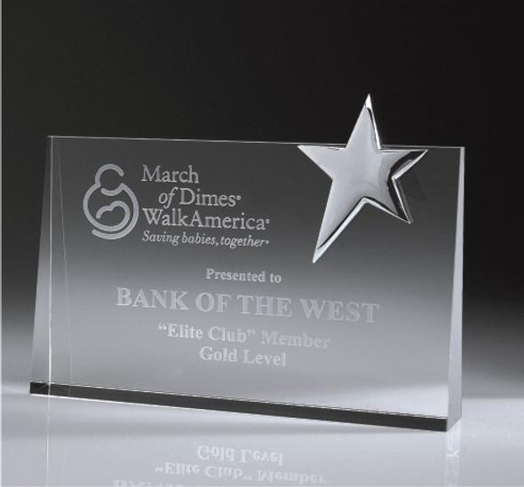 Top Star Award - Rectangle