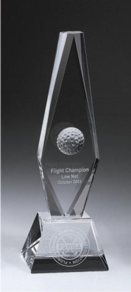 Golf Ball Diamond Trophy