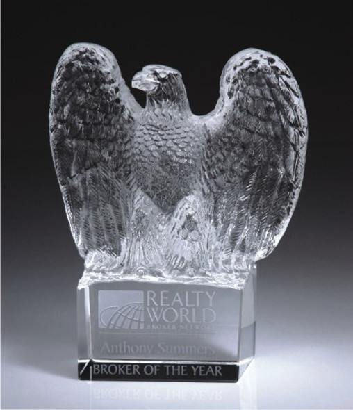 Eagle of Magnum Opus Crystal Award
