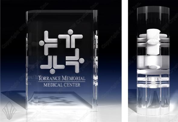 Book Shape (3D Crystal, Optical)