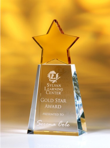 Golden Star Crystal Award