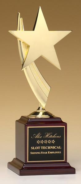 Cast Star Award, Rosewood base, #1570-X