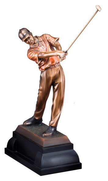 "Golf Trophy, Golf Award Statue, 14"" Tall, 3 sizes available"