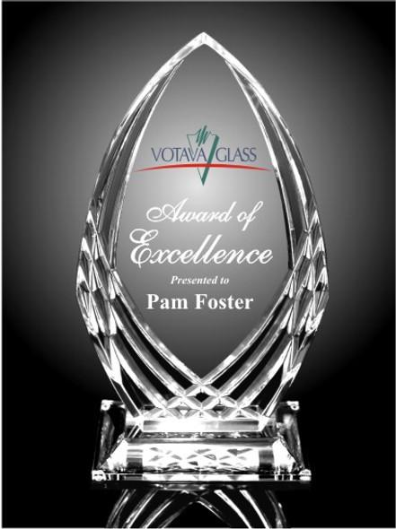 Crystal Cut Acrylic Award