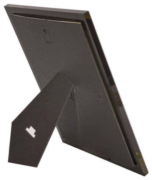 Easel back attached for Wall mount or Stand up