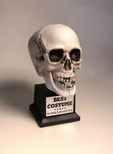 Best Costume Trophy Skull 1