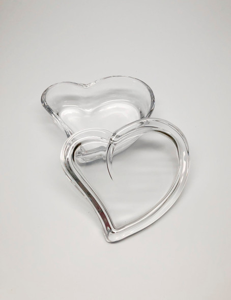 Heart Crystal Trinket box