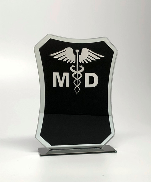 Healthcare / First Responders glass Award