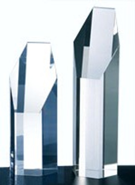 CRYSTAL HEXAGON TOWER, 3 sizes available