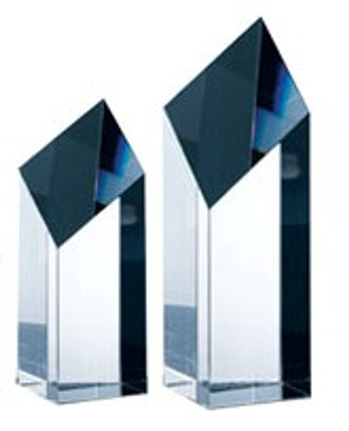 DIAMOND TOWER CRYSTAL AWARD, 3 sizes available