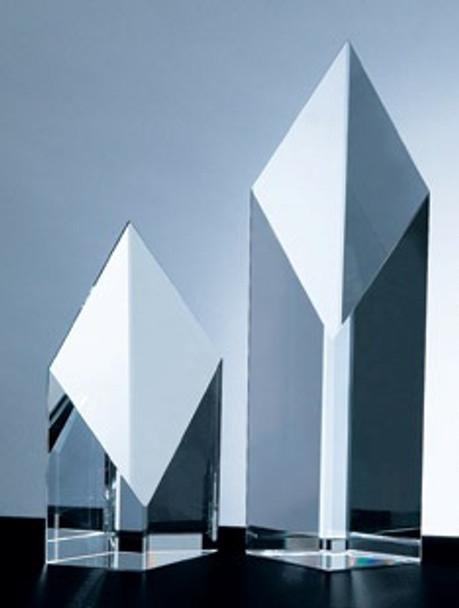 SUPER DIAMOND TOWER CRYSTAL AWARD, 3 sizes available