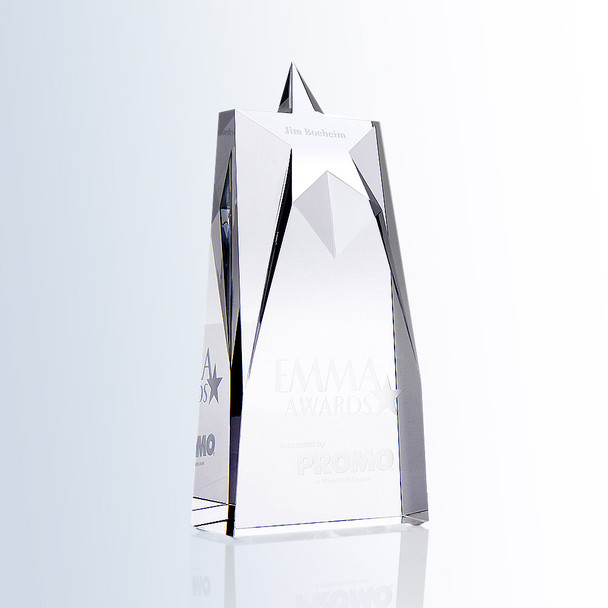 SUPREME STAR Crystal Award, 3 sizes available
