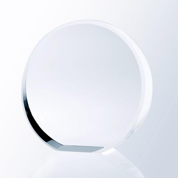 BEVELED CIRCLE AWARD,  3 sizes available
