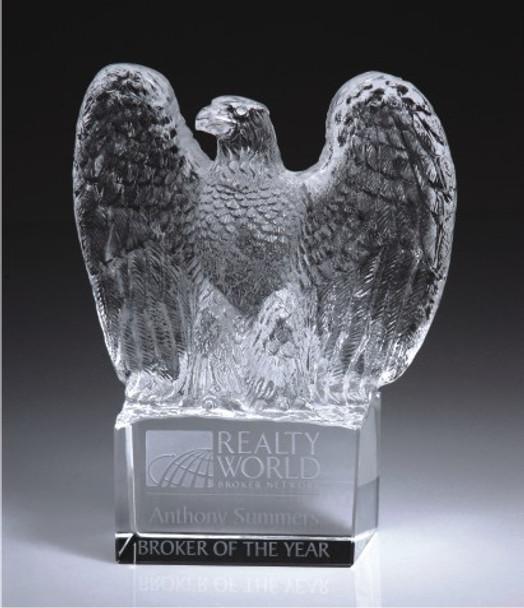 Eagle of Magnum Opus Crystal Award