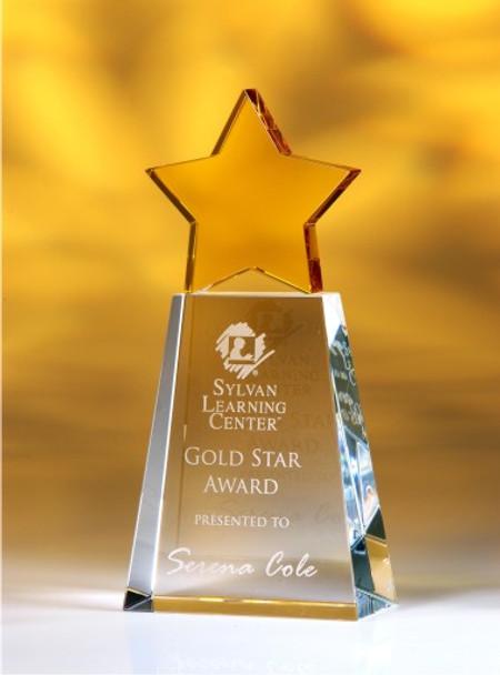 Golden Star Crystal Award
