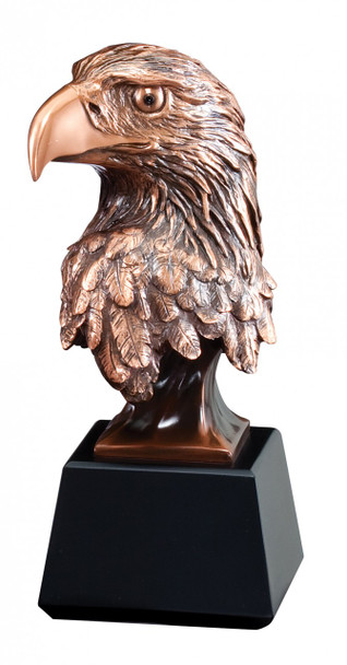 Eagle Award Cast Resin with Electroplated Bronze tone