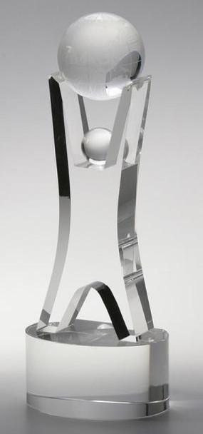 Hold the Globe Crystal Award