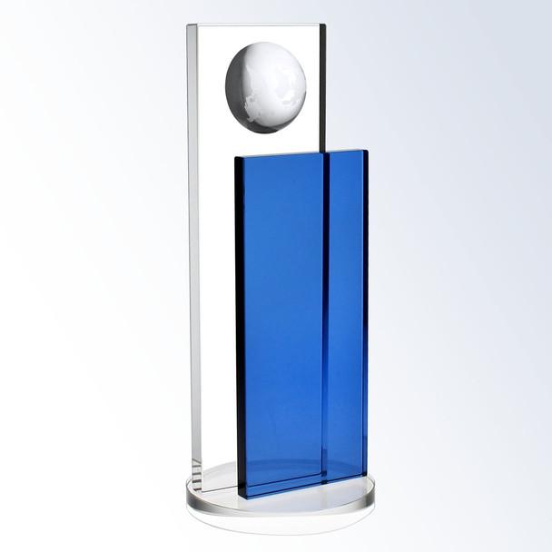 Free engraving on Blue Crystal