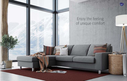 Stressless E200 sofa room view