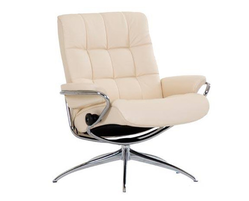 Stressless London low back recliner chair