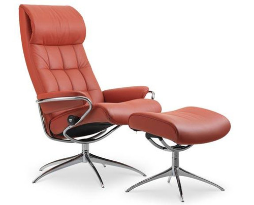 London high back recliner chair