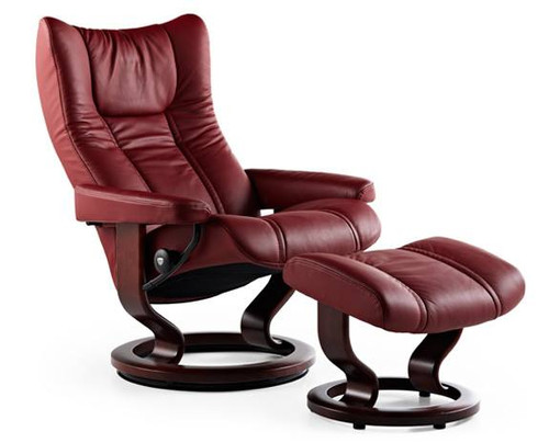 Stressless Wing recliner chair Class base