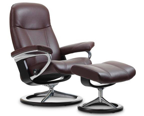 Stressless Consul recliner chair Signature base