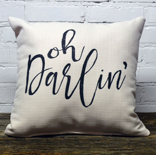 Oh Darlin' pillow the Little Birdie