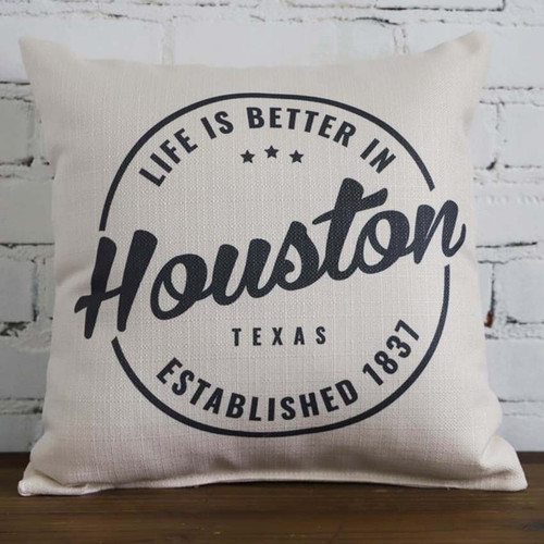 Life is better in your city and state Little Birdie pillow