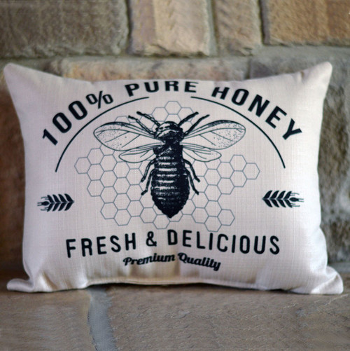 100% Pure Honey Little Birdie Pillow