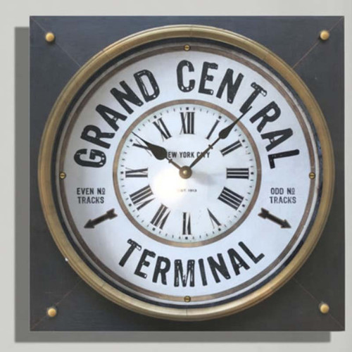 Grand Central Terminal, not station, clock, Trademark Time Company