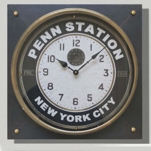 Penn Station Clock Trademark Time Co.
