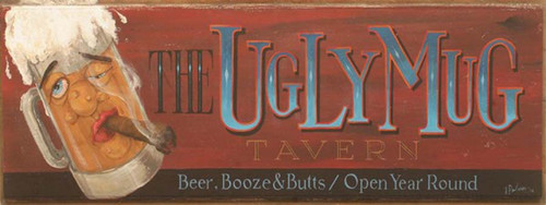 The Ugly Mug Tavern, Red Horse Signs wall art