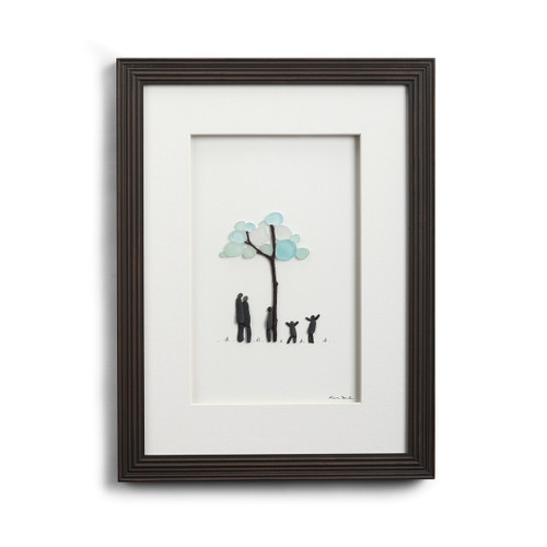 Our Roots are Strong by Sharon Nowlan, framed and matted