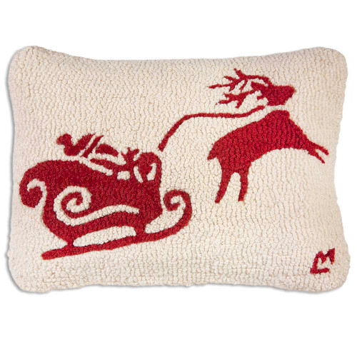 Snow dashing Chandler 4 Corners throw pillow