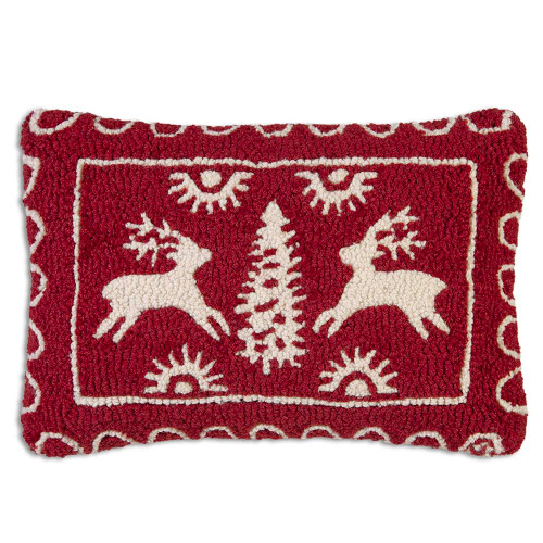 Alpine Deer Chandler 4 Corners throw pillow