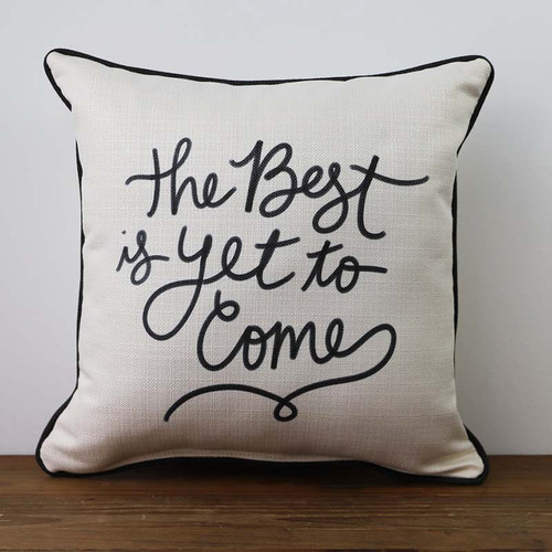 The Best is Yet to Come, pillow, The Little Birdie