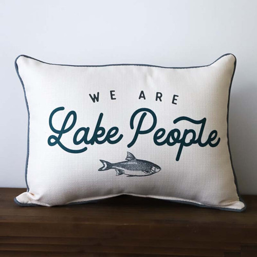 We are Lake People Pillow