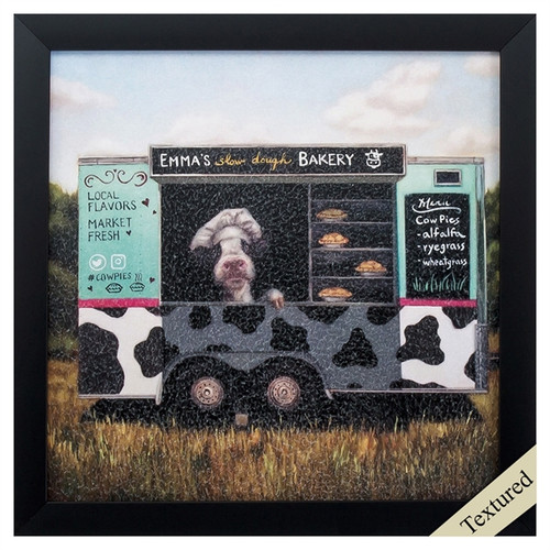 Cowpies, Propac Images, framed art