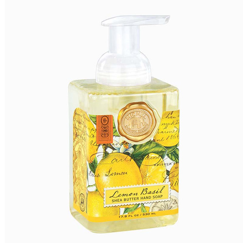 Lemon Basil Foaming Hand Soap Michel Design