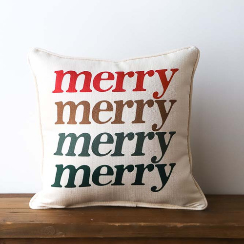 Mery Merry Merry Pillow
