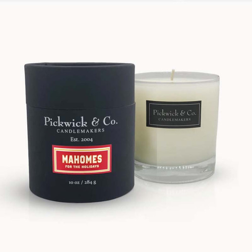 Mahomes for the Holidays, Pickwick Candles and Co., Kansas City, Overland Park
