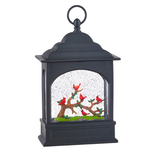 Cardinals, Water Lantern, Raz, Christmas, Holiday