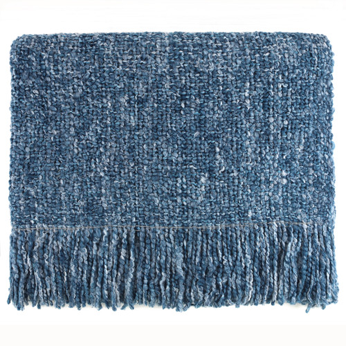 Campbell Woven Throw Bedford Collections Malibu Color