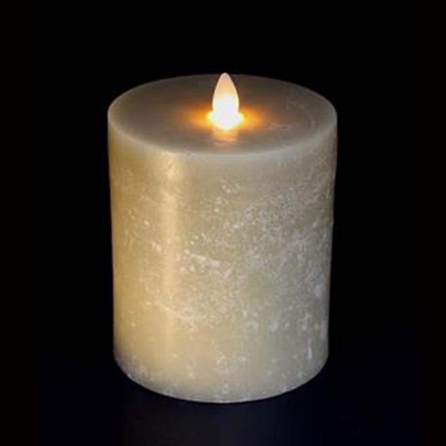 Oatmeal Moving Flame Candle