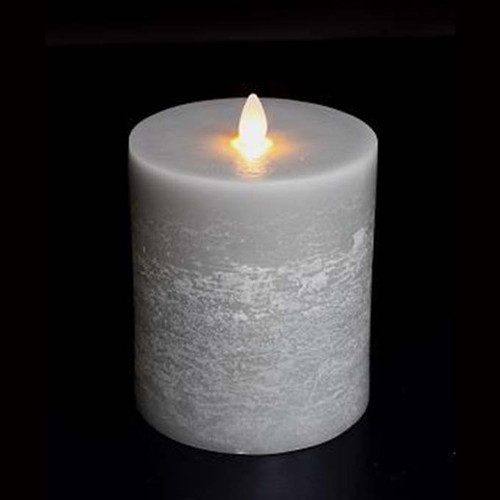 Platinum Moving Flame Candle