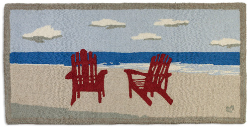 Late Afternoon Red Chair rug