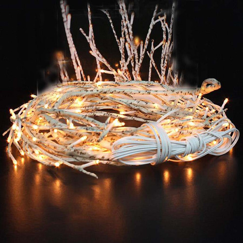 Birch Vine, The Light Garden, 144 incandescent bulbs