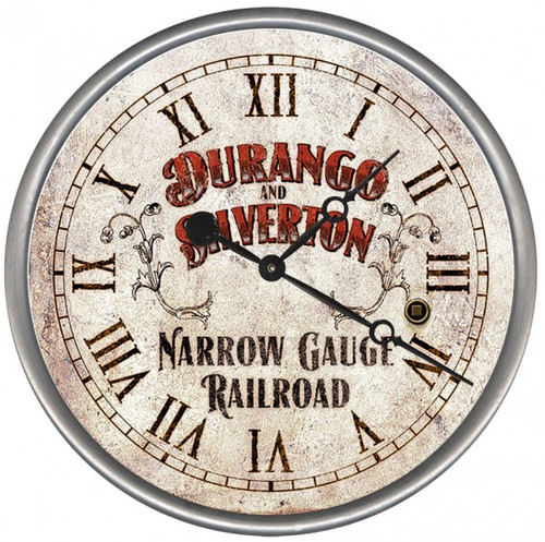 Railroad wall clock